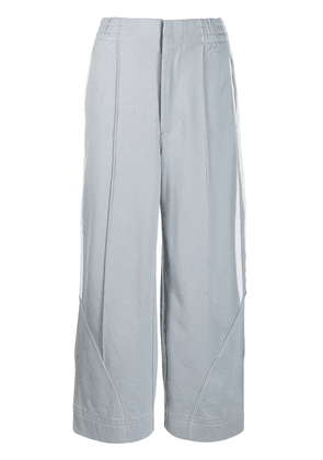Y-3 wide track trousers - Grey