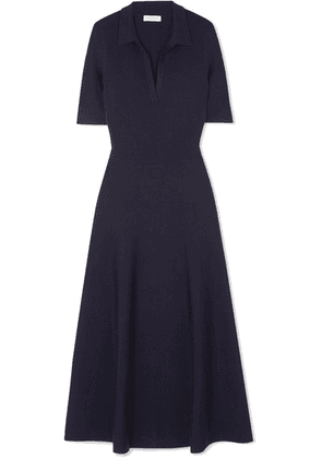 Gabriela Hearst - Wool-blend Midi Dress - Navy