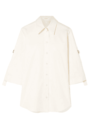 Givenchy - Oversized Textured-cotton Shirt - Ivory