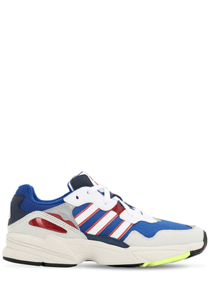Yung 96 Faux Leather & Mesh Sneakers