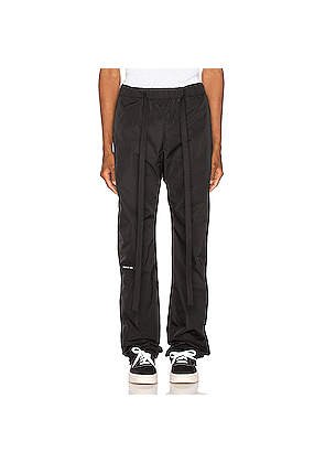 Fear of God Baggy Nylon Pant in Black