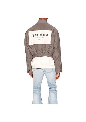 Fear of God 6th Collection Bomber Jacket in Gray