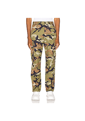 Valentino Cargo Pants in Green
