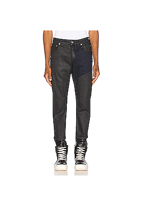 Rick Owens Babel Cropped Jeans in Black