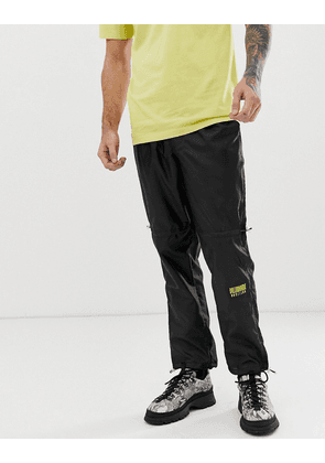 Billionaire Boys Club lightweight ripstop beach pant with embroidered logo in black