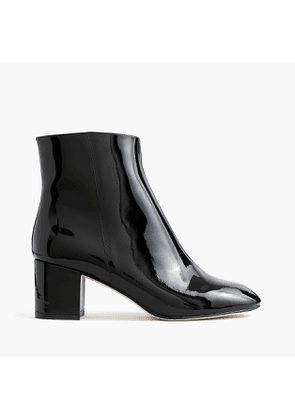 Hadley patent leather boots