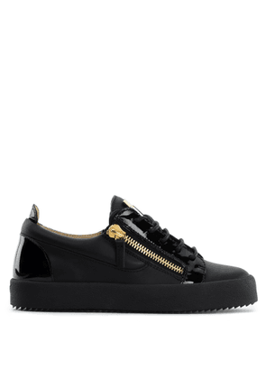 Giuseppe Zanotti - Leather low-top sneakers NICKI