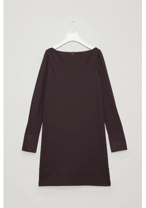 JERSEY DRESS WITH CONTRAST DETAIL