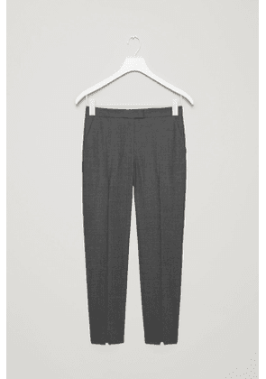 TAILORED SLIM-FIT TROUSERS