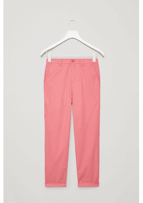 RELAXED TWILL CHINOS