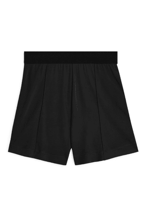Fluid Jersey Shorts - Black