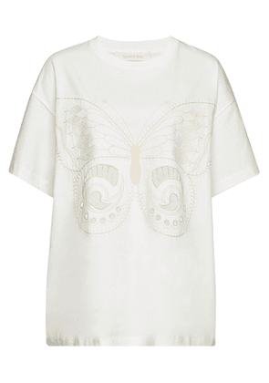 See by Chlo © Embroidered Cotton T-Shirt