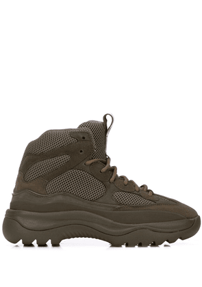 Yeezy chunky sole boots - Green
