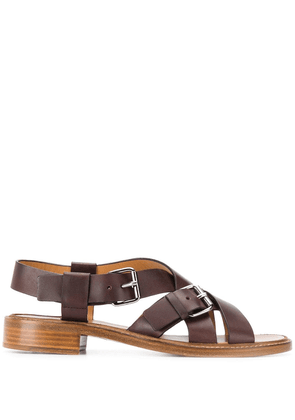 Church's strappy buckled sandals - Brown