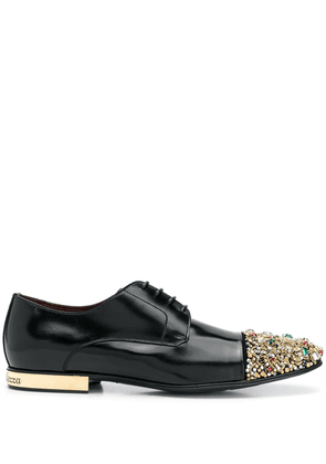 Dolce & Gabbana gem embellished brogues - Black