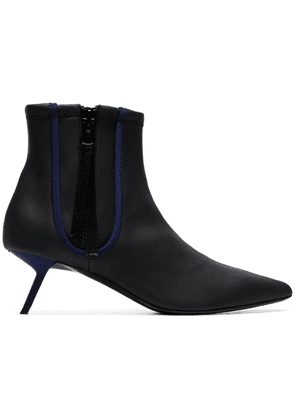 Alchimia Di Ballin black Perka 55 zip up leather ankle boots