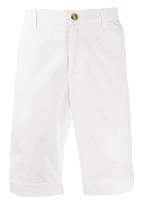 Brunello Cucinelli tailored chino shorts - White