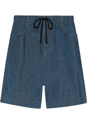 Gucci Stretch corduroy shorts - Blue