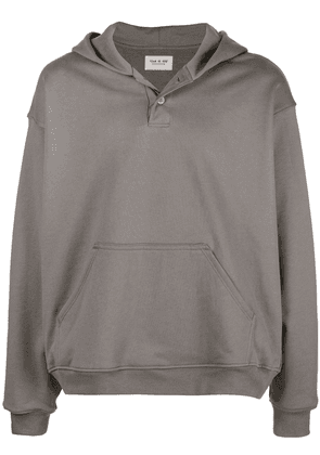 Fear Of God plain hoodie - Grey