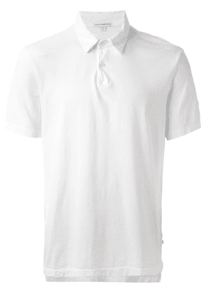 James Perse classic polo shirt - White