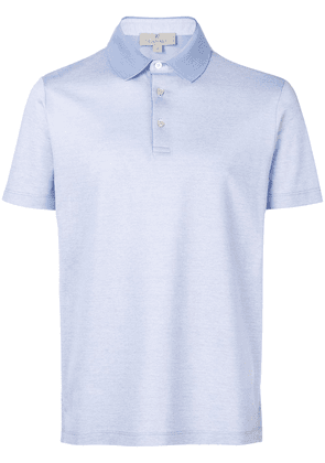 Canali slim-fit polo shirt - Blue