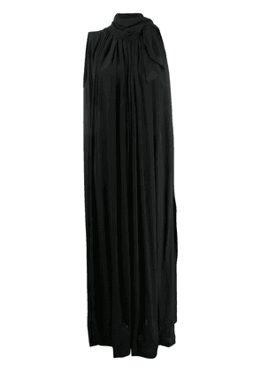 Erika Cavallini long turtle neck dress - Black
