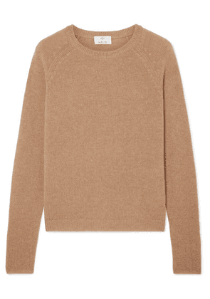 Allude - Cashmere Sweater - Camel