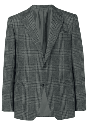 Caruso Norma plaid blazer - Grey