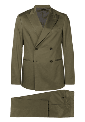 Tonello double breasted two-piece suit - Green