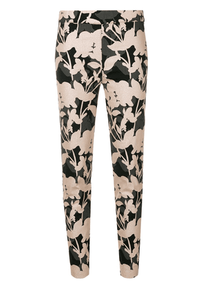 D.Exterior patterned trousers - Pink