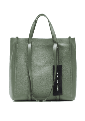 The Tag leather tote