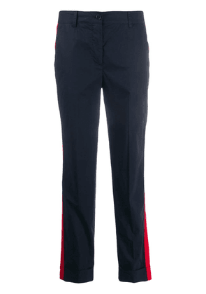 P.A.R.O.S.H. tailored cropped trousers - Blue