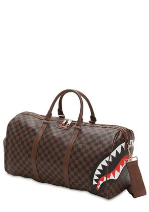 Sharks In Paris Faux Leather Duffle Bag
