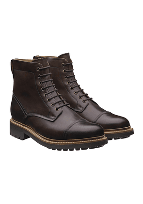 Brown Leather Joseph Boots