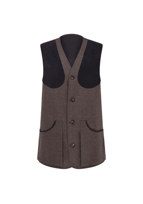 Brown and Blue Duncombe Waistcoat