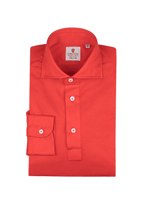 Coral Jersey Polo Shirt