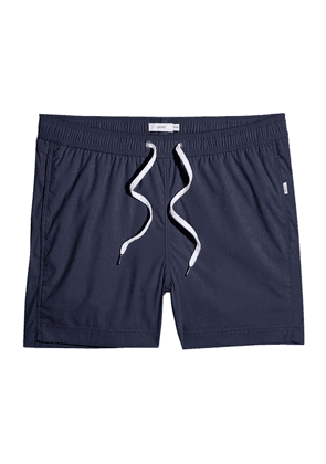 Navy Charles 5' Swim Shorts