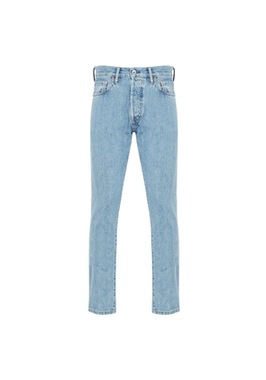 Stonewashed Blue M7 Tapered Selvedge Jeans