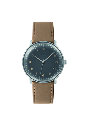 Tan Leather Max Bill Automatic Watch