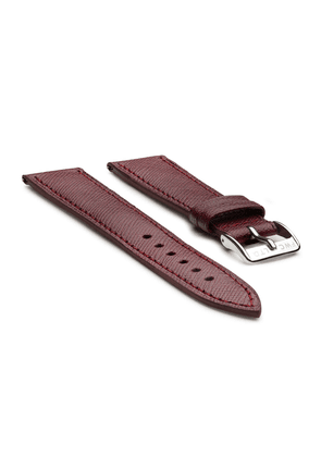 Passport Red Leather Watch Strap