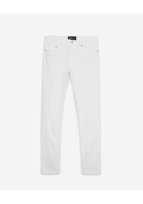 The Kooples - white slim-fit jeans - whi