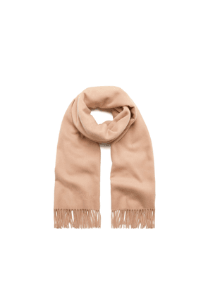 Mulberry Lambswool Scarf in Rosewater Lambswool