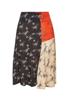 By Malene Birger Tahola Printed Skirt with Silk