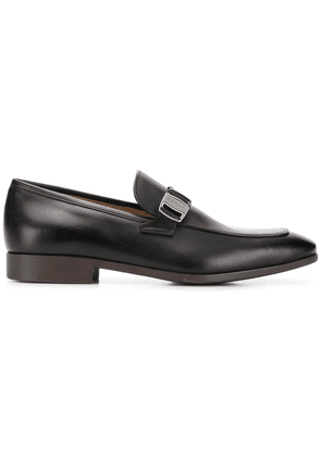 Salvatore Ferragamo buckle loafers - Blue