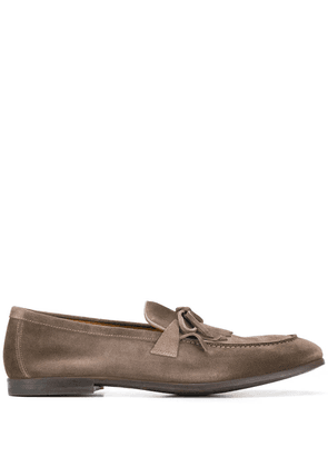 Doucal's mocassin tassel loafers - Grey