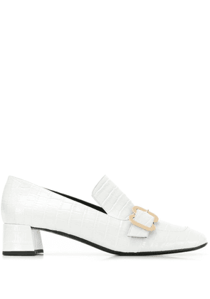 Erdem buckled loafers - White