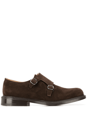Church's double strap monk shoes - Brown