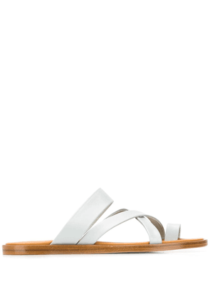 Common Projects crossover flat sandals - Blue