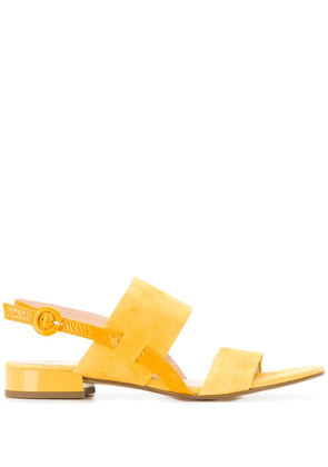 Hogl double strap sandals - Yellow