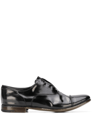 Premiata laceless oxford shoes - Black
